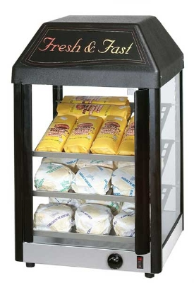Frymaster / Dean 15MC 15-in Heated Display Merchandiser w/ 27-Cookie Capacity & Glass Panels