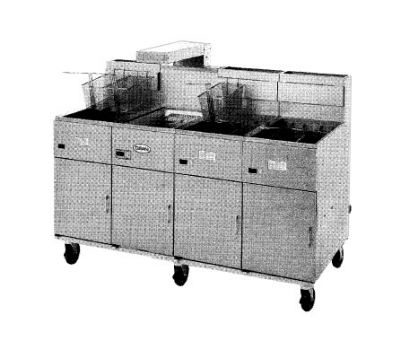 Frymaster / Dean 20MC 2401 Food Warmer / Holding Station / Fryer Spreader Cabinet, 20 in W, 240/1