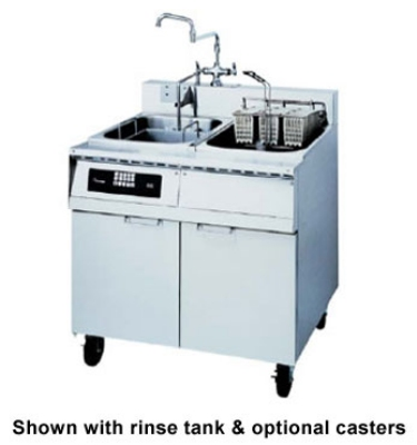 Frymaster / Dean 8BC 2081 Single Tank Pasta Cooker, Faucet, Basket Lift, Stainless, 8 Kw, 208/1