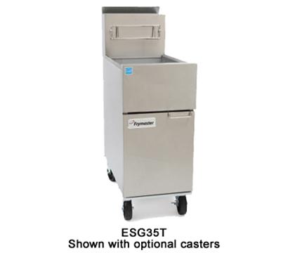 Frymaster / Dean ESG35T-SLCT Tube Type Fryer - 35-lb Oil Capacity, Millivolt Control, Stainless, LP