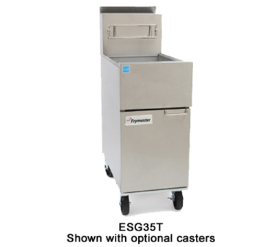 Frymaster / Dean ESG35T-SLCT Gas Fryer - (1) 35-lb Vat, Floor Model, NG