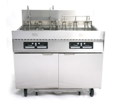 Frymaster / Dean FPC228 2403 Heavy Duty Fryer, 2 Vat w/ Filter, 110 lb Capacity, 240/3