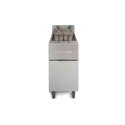 Frymaster / Dean GF14SDLP Gas Fryer - (2) 40-lb Vat, Floor Model, LP