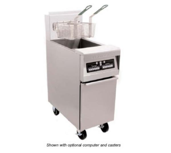 Frymaster / Dean H55BLCSDNG 50-lb Full Pot Fryer w/ Basket Lift &