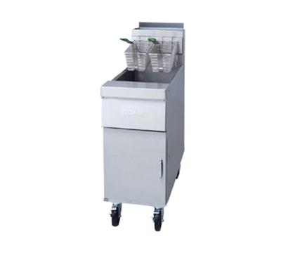 Frymaster / Dean HD50GDD NG Gas Fryer - (1) 50-lb Vat, Floor Model, NG