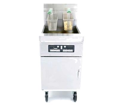 Frymaster / Dean HD60G NG Gas Fryer - (1) 80-lb Vat, Floor Model, NG