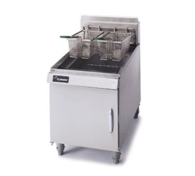 Frymaster / Dean J1CSDNG Counter Top Fryer, Single Fry Pot, 15-20 lb, Enamel Cabinet, NG