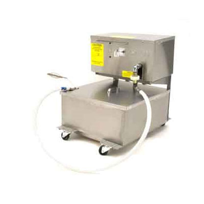 Frymaster / Dean MF90U/110 110-lb Capacity Mobile Fryer Filter w/ Gravity Drain