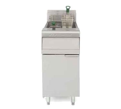 Frymaster / Dean MJ35SDLP Gas Fryer - (1) 40-lb Vat, Floor Model, LP