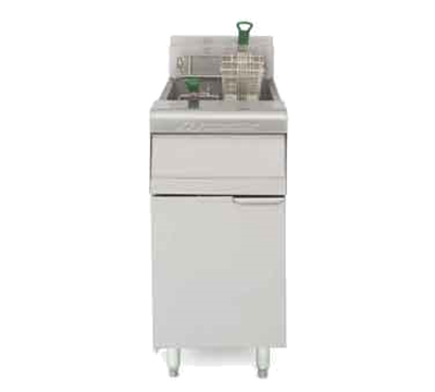 Frymaster / Dean MJ35-SD NG Gas Fryer - (1) 40-lb Vat, Floor Model, NG