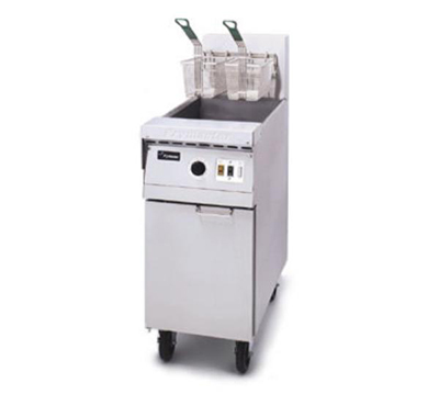 Frymaster / Dean MJ45ESCNG Heavy Duty Fryer, 40-50 lb. Capacity, All SS, Therm. Controls, NG