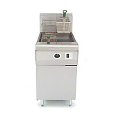 Frymaster / Dean MJCFE-E LP Open Fryer w/ 80-lb Oil Capacity, Basket Hanger & Electronic Timer Control, LP