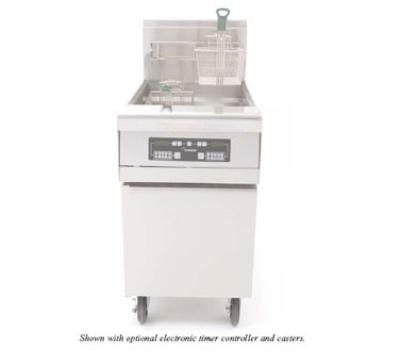 Frymaster / Dean MJCFSCNG Gas Fryer - (1) 80-lb Vat, Floor Model, NG