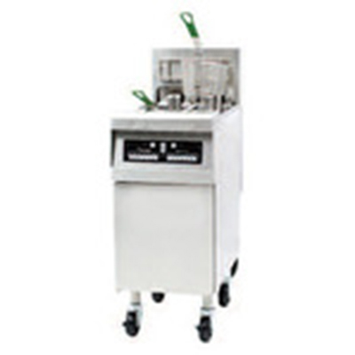 Frymaster / Dean RE14-2E Electric Fryer - (1) 50-lb. Split Pot, Floor Model, 208v/3ph