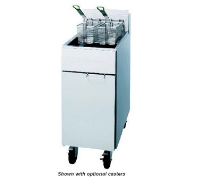 Frymaster / Dean RE22BLTC-SD 2081 Heavy Duty Fryer, 50 lb, Basket Lifts, TRIAC, Enamel, 22 Kw, 208/1