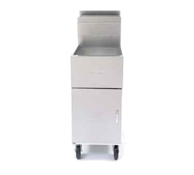 Frymaster / Dean SM50GNG Gas Fryer - (1) 50-lb Vat, Floor Model, NG