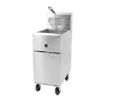 Frymaster / Dean SR14E Electric Fryer - (1) 40-lb. Vat, Floor Model, 208v/3ph
