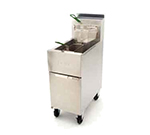 Frymaster / Dean SR42NG Gas Fryer - (2) 43-lb Vat, Floor Model, NG