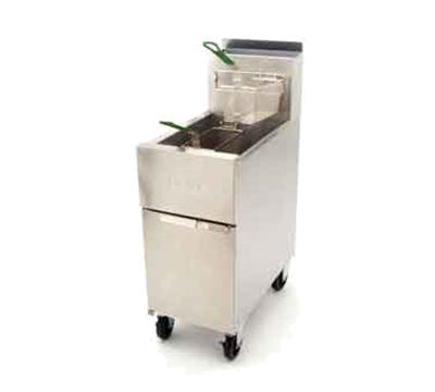 Frymaster / Dean SR52LP Gas Fryer - (2) 50-lb Vat, Floor Model, LP