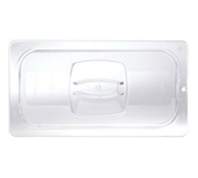 Rubbermaid FG121P23CLR Cold Food Pan Cover - 1/3 Size, Clear Pol