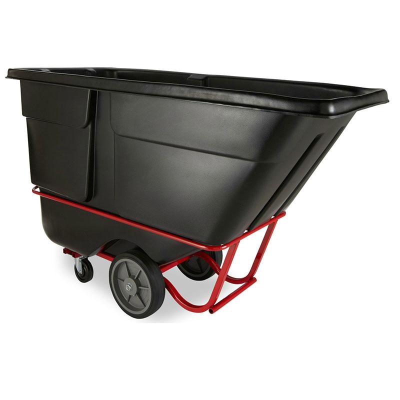 Rubbermaid FG131600BLA Rotational Tilt Truck - Heavy-Duty, 2100-lb Capacity, Black