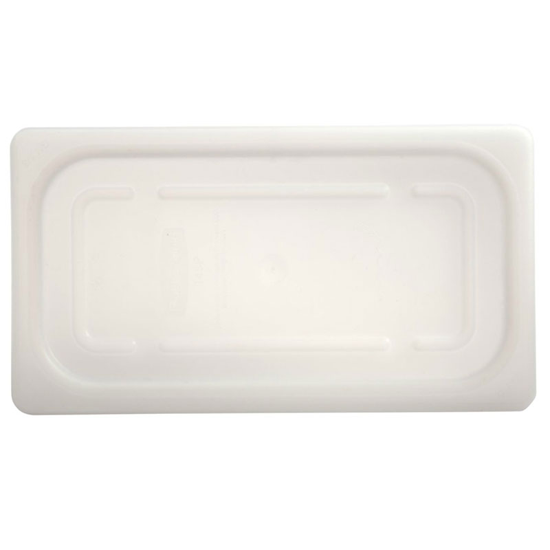 "Rubbermaid FG110P00CLR Cold Food Pan - 1/4 Size, 2-1/2"" Deep"