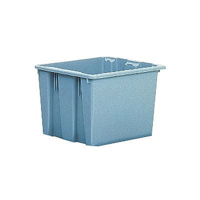 Rubbermaid FG173100GRAY Palletote Box - 23-1/2x19-