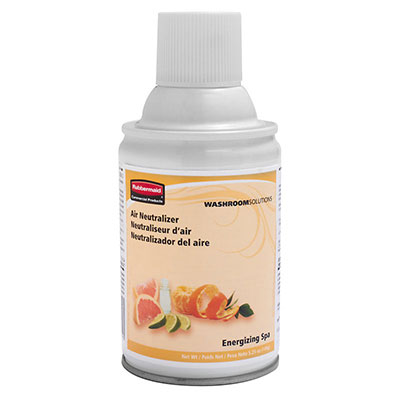 Rubbermaid 1836254 Microburst 9000 Refill - Energizing Spa Fragrance