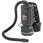 Rubbermaid FG9VBP060000 6-qt Backpack Vacuum - Black