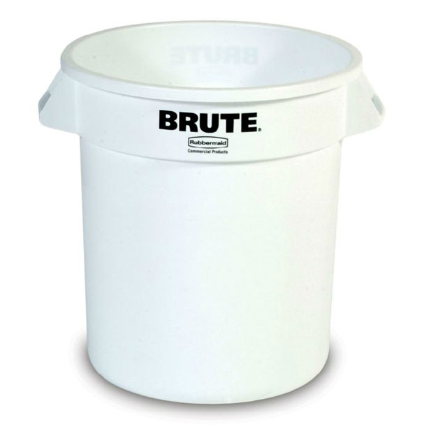 Rubbermaid FG264300WHT 44-gal BRUTE Container - White