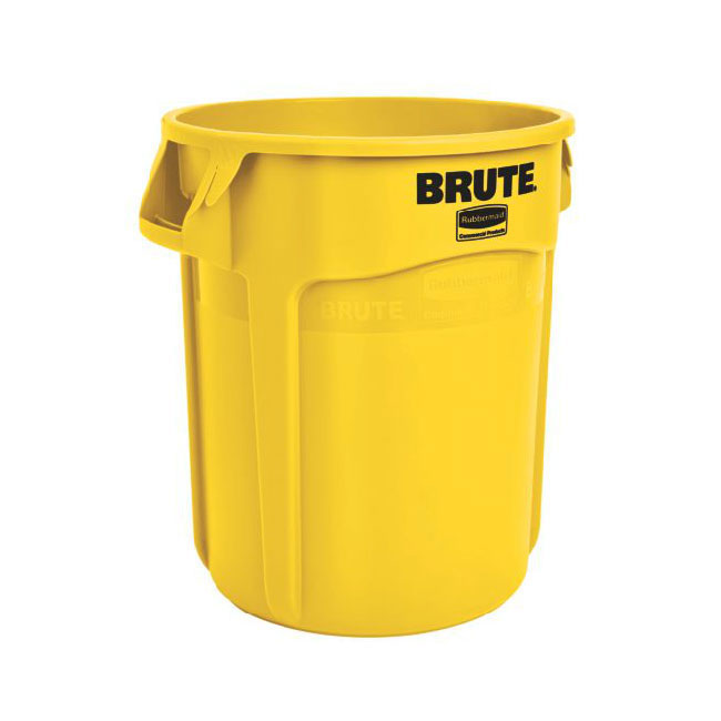 Rubbermaid FG264300YEL 44-gal BRUTE Container - Yellow