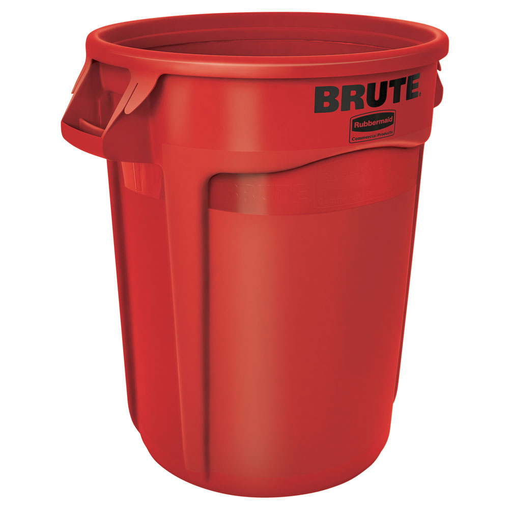 Rubbermaid FG264300RED 44-gal BRUTE Container - Red