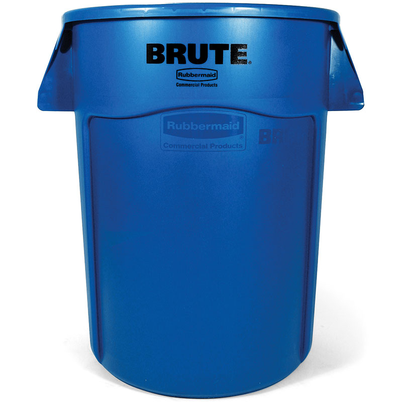 Rubbermaid FG264360BLUE 44-gal BRUTE Utility Container - Blue