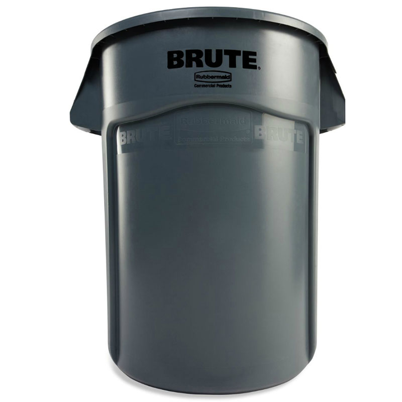 Rubbermaid FG264300GRAY 44-gal BRUTE Container - Gray