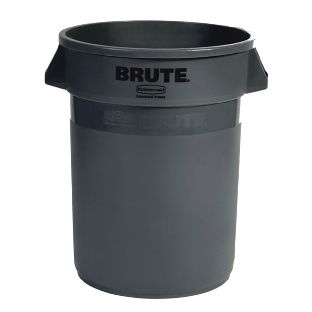 Rubbermaid FG262000GRAY 20-gal ProSave BRUTE Container - Gray