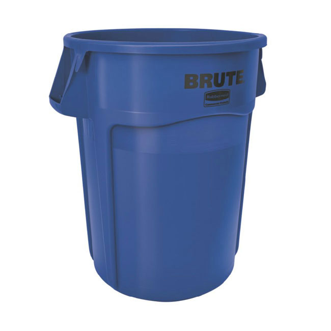 Rubbermaid FG264300BLUE 44-gal BRUTE Container - Blue