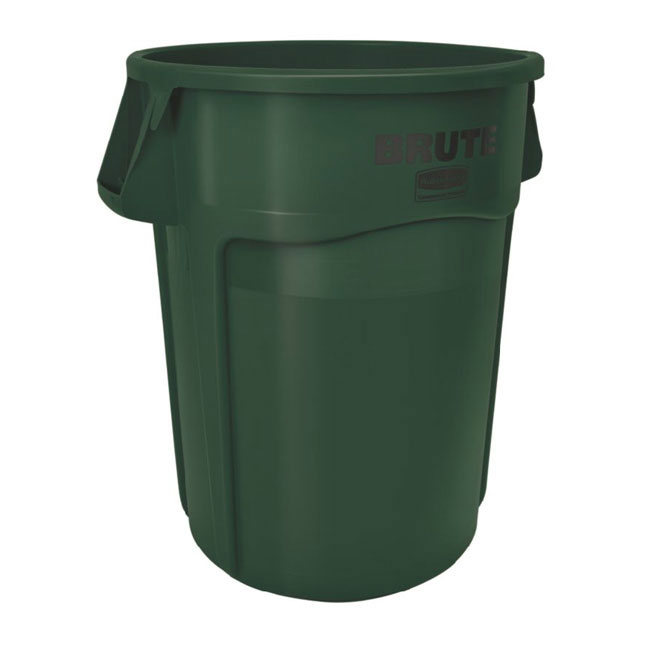Rubbermaid FG264300DGRN 44-gal BRUTE Container - Dark Green