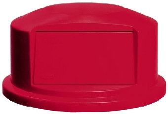 Rubbermaid FG264788RED Brute Trash Dome Top Restaurant Supply