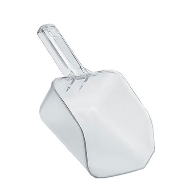 Rubbermaid FG288400CLR 32-oz Bouncer Utility Scoop - Clear Poly
