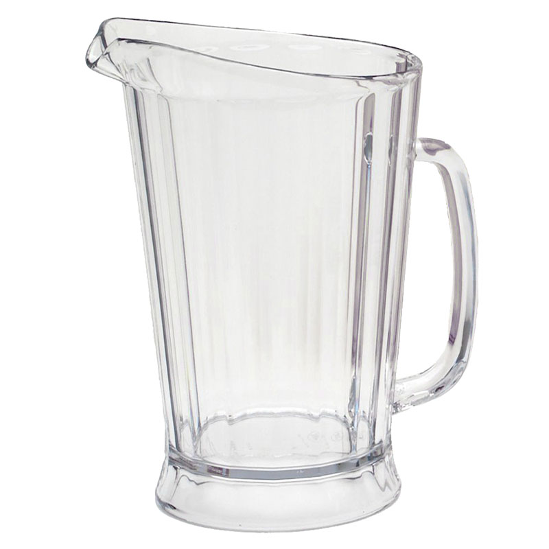 Rubbermaid FG333100CLR 48-oz Bouncer II Pitcher - Clear Poly