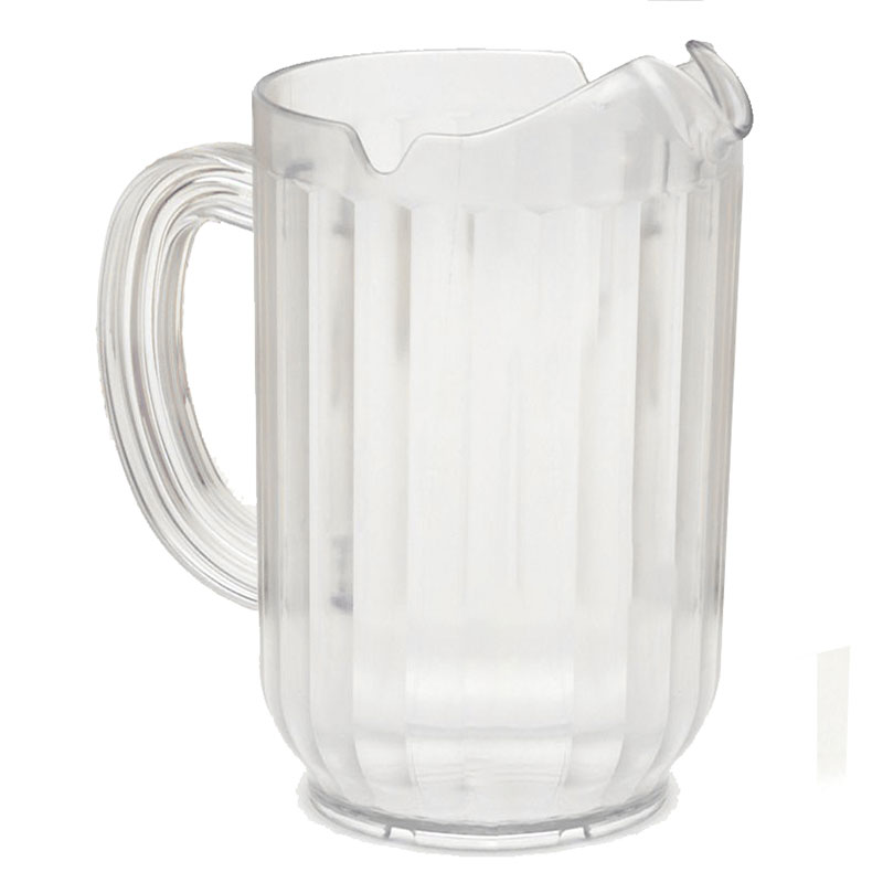 Rubbermaid FG333500CLR 48-oz Bouncer Pitcher - Clear Poly