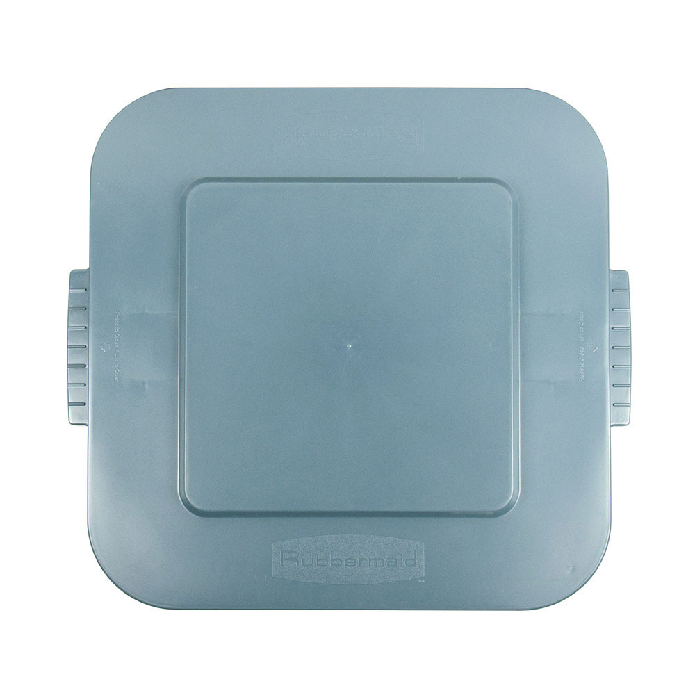 Rubbermaid FG353900GRAY 40-gal Square BRUTE Container Lid - Gray