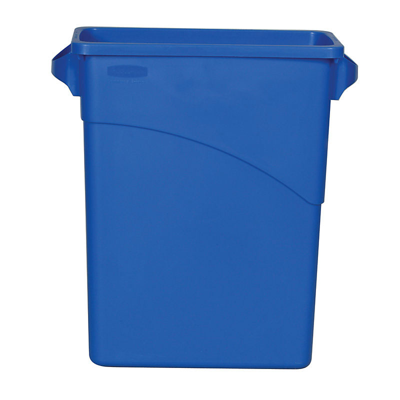 Rubbermaid FG354100DBLUE 16-gal Slim