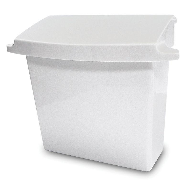 Rubbermaid FG614000WHT Sanitary Napkin Receptacle - White