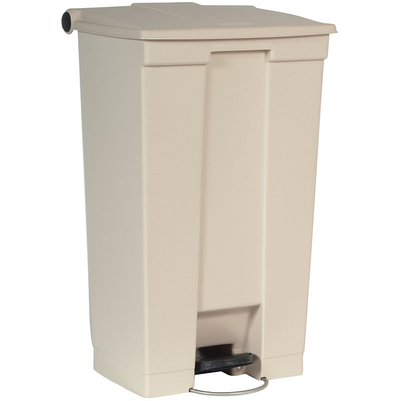 Rubbermaid FG614600BEIG 23-gal Step-On Container - Beige