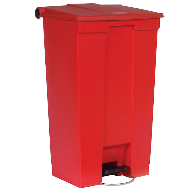 Rubbermaid FG614600RED 23-gal Step-On Container - Red
