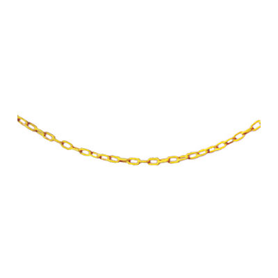 "Rubbermaid FG618400YEL 20"" Barrier Chain - Yellow"