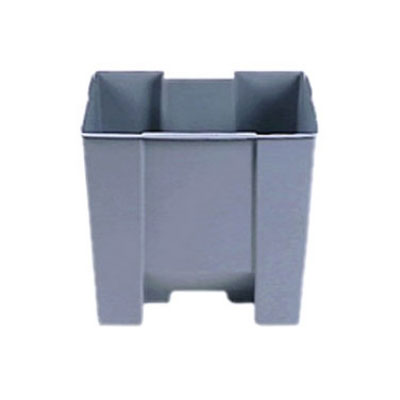 Rubbermaid FG624400GRAY 10-1/4-gal Step-On Container Rigid Liner - Gray