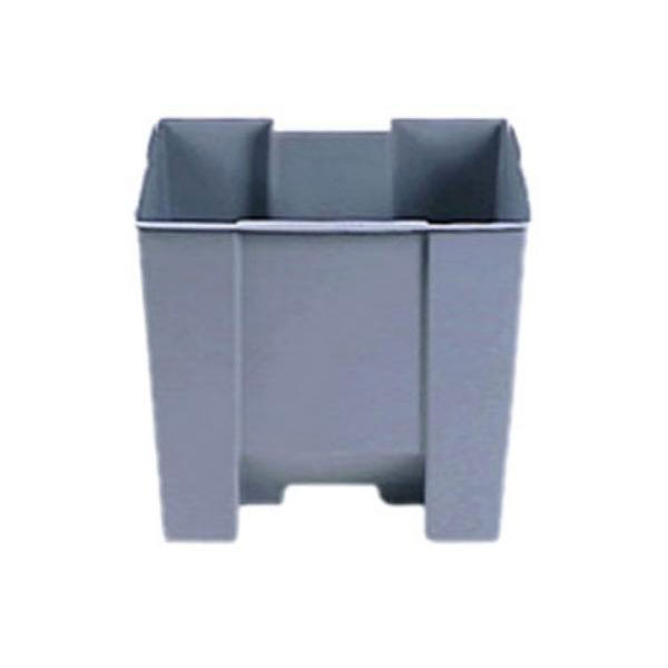 Rubbermaid FG624500GRAY 15-gal Step-On Con