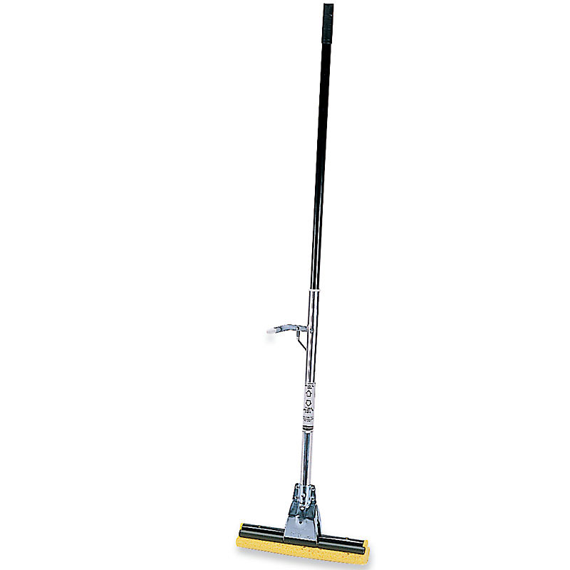 Rubbermaid FG643500BRNZ Steel Roller Sponge Mop 12 in Restaurant Supply